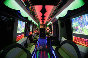 Macomb Party Bus